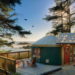 Yurt with breathtaking view