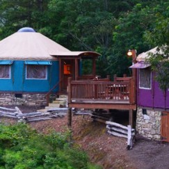 Colorful Resort Yurt Rentals