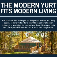 Modern Yurt Fits Modern Living Cover Photo